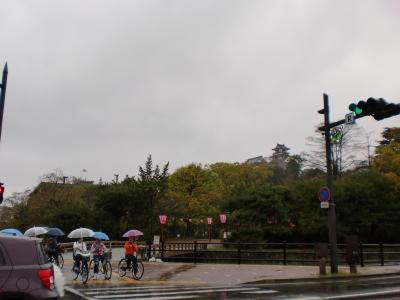 高知城入り口