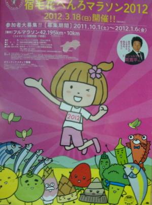 2012年宿毛花へんろマラソン