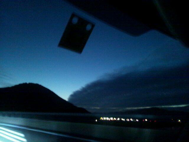 2012年10月14日の断層雲